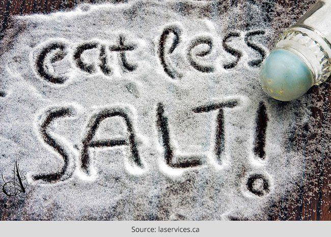 Como limitar o sódio na dieta