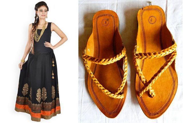 Womens maxi vestidos com kolhapuris