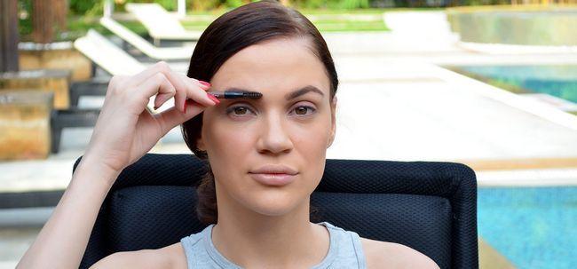 Como fazer suas sobrancelhas mais grossas com maquiagem - um tutorial passo a passo