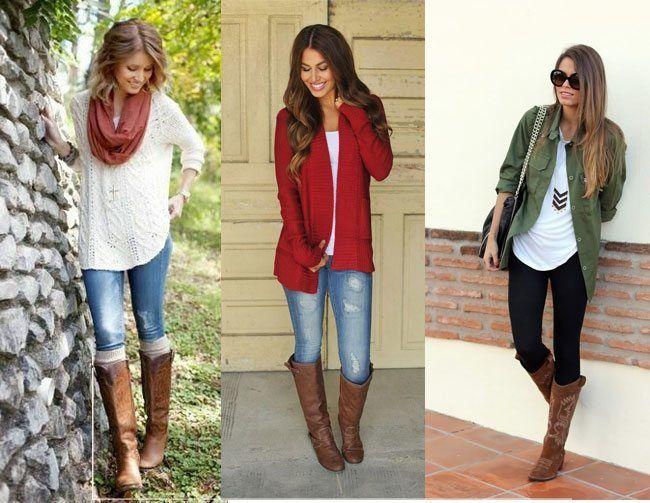 Como fazer o seu jeans não magros olhar magro quando vestindo botas