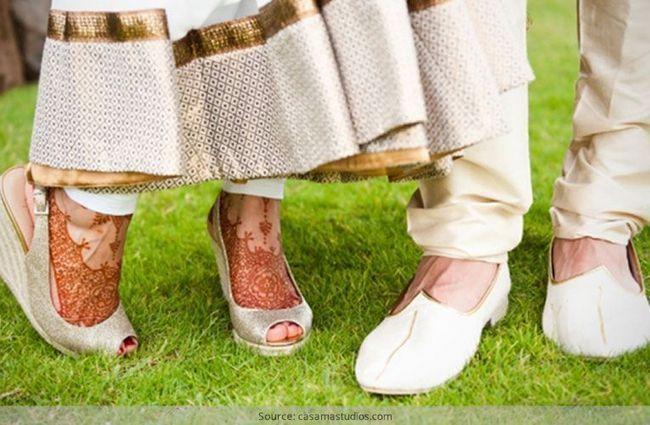 Como pregar o perfeito casamento sapatos ao ar livre