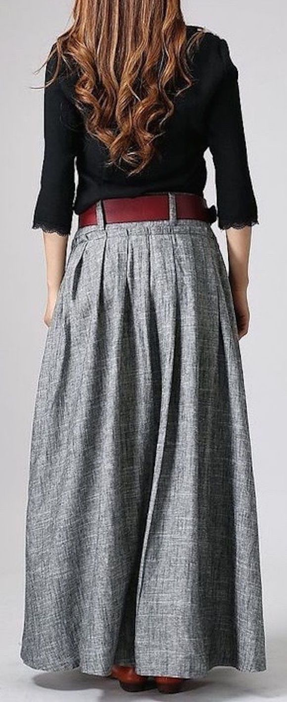 Como estilo de roupas de cor cinza