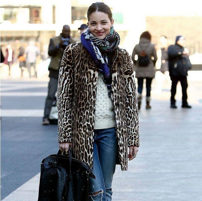 Como para atender as mais quentes casacos leopardo para 2014
