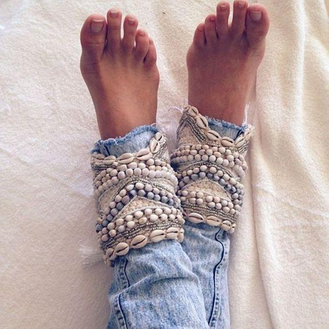 Seashell punhos
