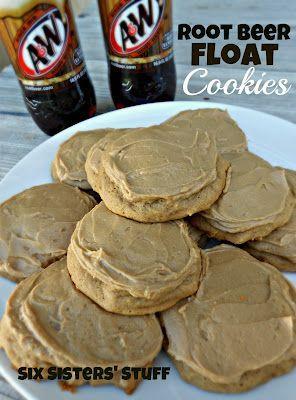 Os cookies cerveja float