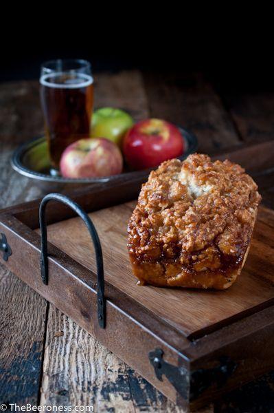 Caramel pão de cerveja da Apple