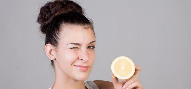Como usar limão para se livrar da caspa?