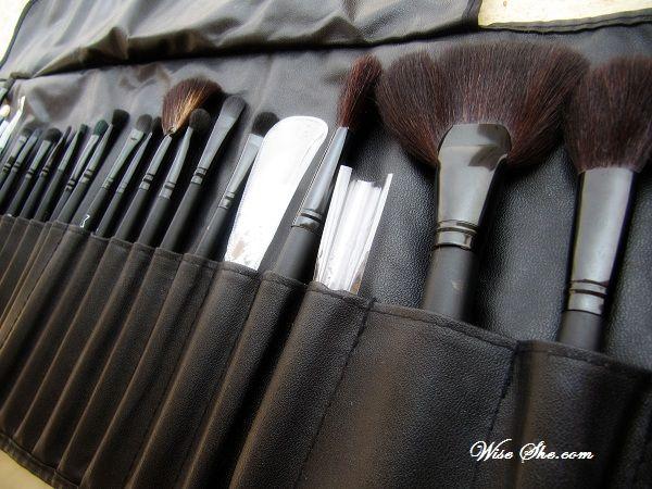 Como usar pincéis de maquiagem