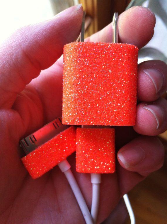 Glitter Iphone Carregador