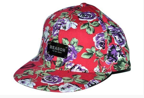 Sporty Fashion Trend, print floral tampão desportivo