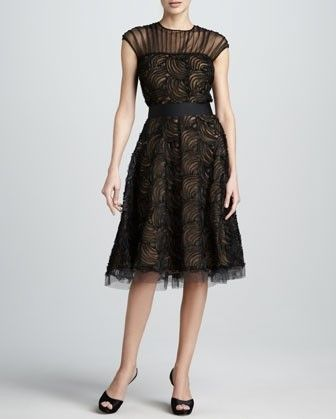 Loja The Golden Globe Style - Tadashi Shaoji rendas vestido de noite preto