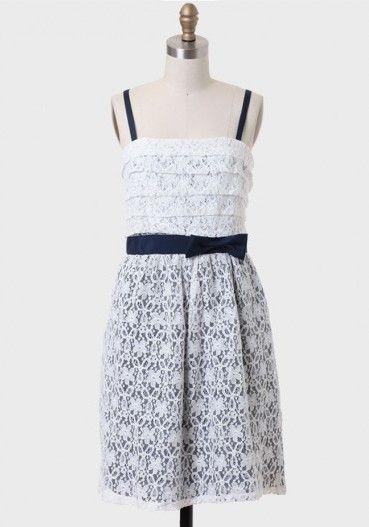 Shopruche Delphine vestido de renda inverno branco