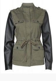 `Candice` Jacket - Military Trends for Spring 2014