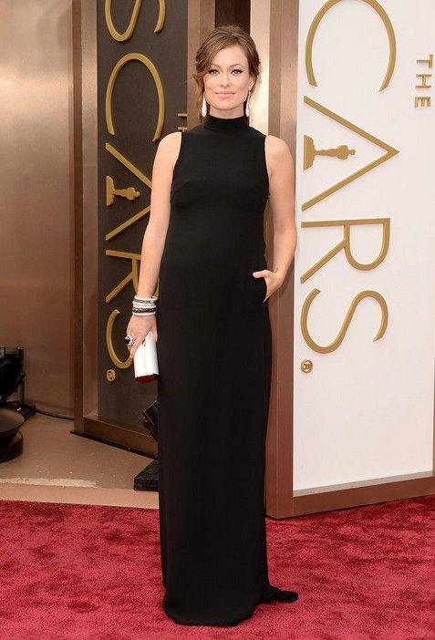 Olivia Wilde`s Mock-turtleneck Oscars Dress by Valentino