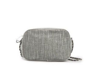 MANGO LUREX Boucle da Corrente-ligação Strap Flap Bag para um olhar Party-pronto