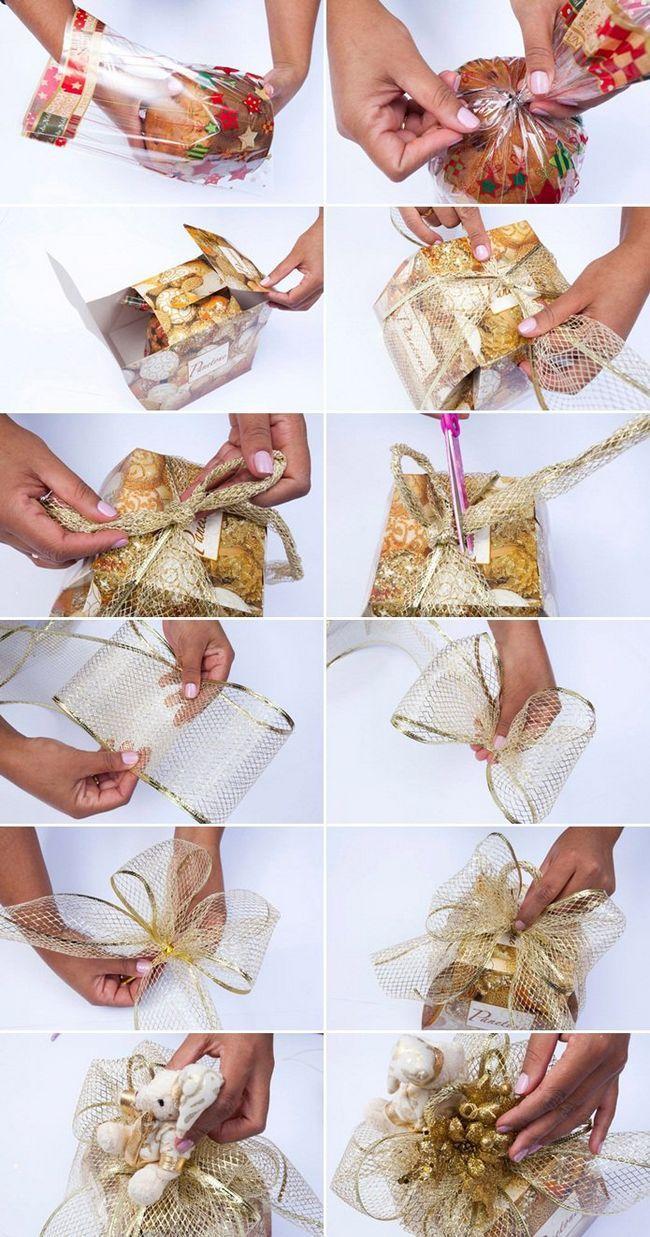 Como embrulhar os seus presentes para o natal