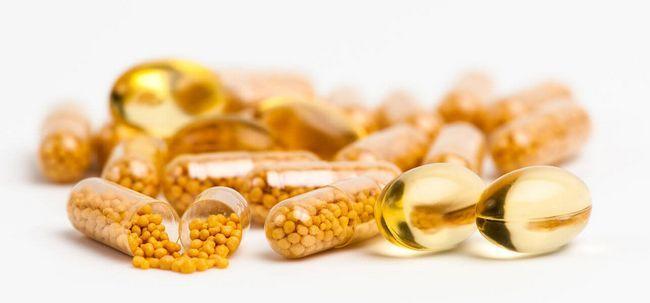 Como cápsulas de vitamina e ajudar a sua pele?