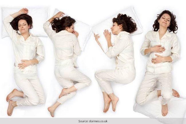 Posições de dormir importantes e saudáveis para todos