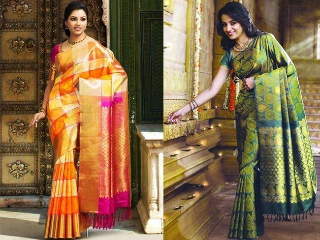 Sarees casamento indiano - o tesouro para cada noiva
