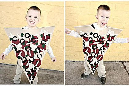 Costume Pizza DIY