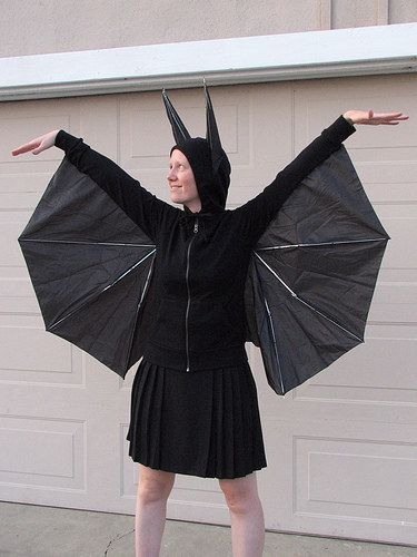 DIY traje Man Bat