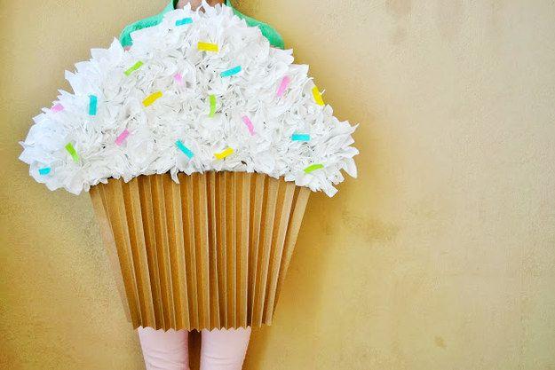 Costume Cupcake DIY