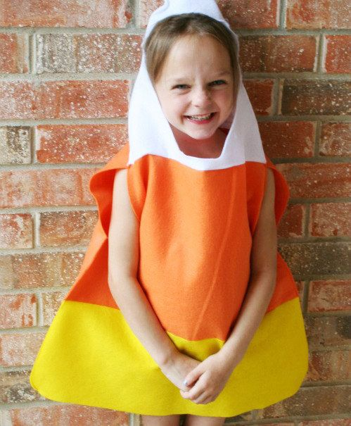 Costume milho de doces DIY
