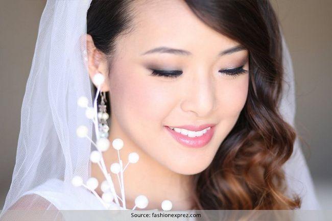 Maquiagem nupcial japonês