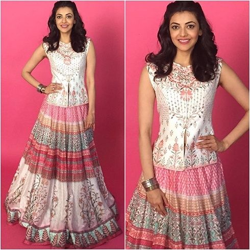 Kajal Aggarwal Anita Dongre Outfit