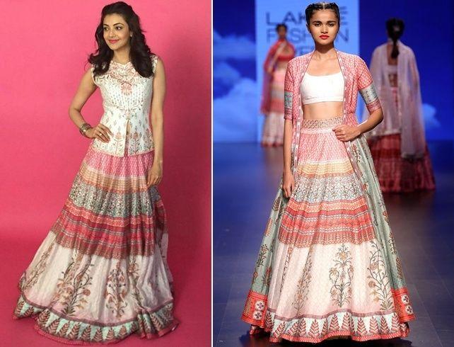 Kajal Aggarwal Outfit de Anita Dongre