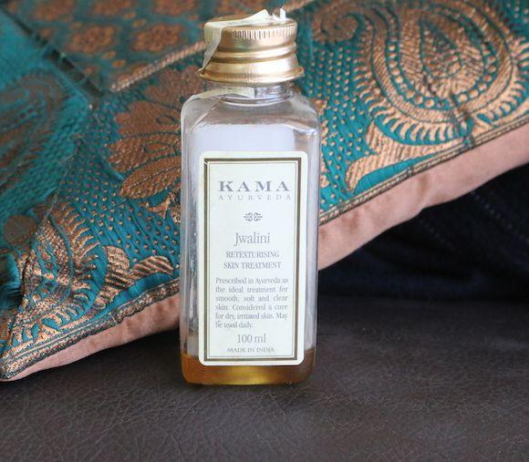 Kama ayurveda jwalini retexturising avaliação óleo de tratamento de pele