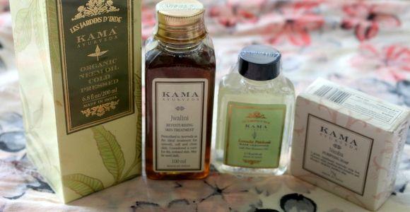 Kama Aurveda Jawalini Oil Pele e mais