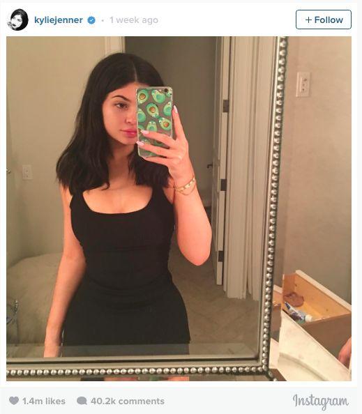 Kylie jenner sem maquiagem olhar e mais