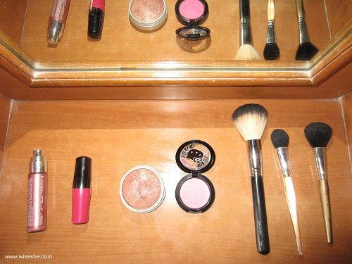 La vie en rose (vida através de rosa vidro colorido), o rubor (makeup tutorial)
