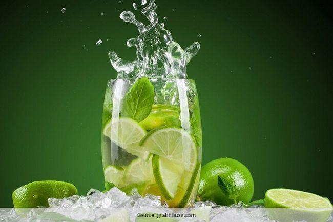 Benefícios para a saúde da água de limão