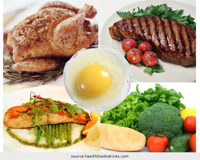 Lista de alimentos de baixa caloria com elevado teor de proteínas