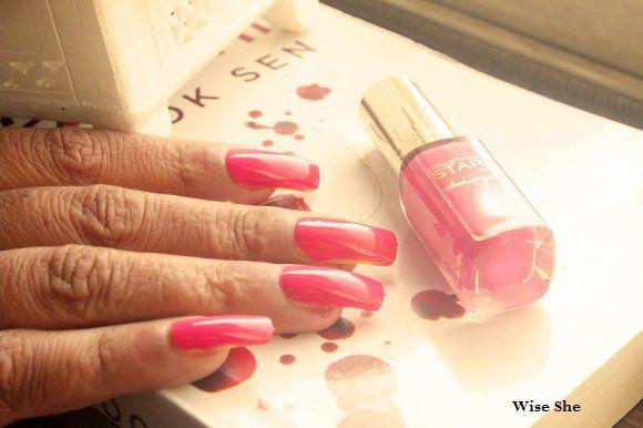 aishwarya nomes pintura india loreal rosa