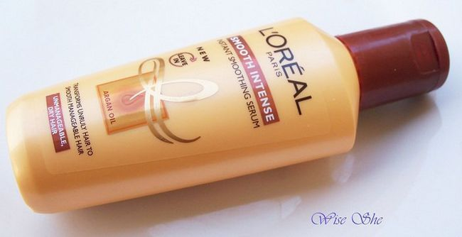 loreal Paris intensa soro smoothning instantânea lisa