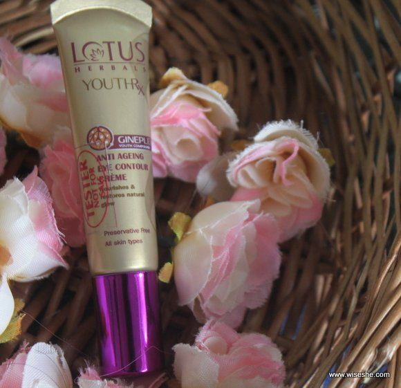 tubo Lotus-Herbals- YouthRx-Anti-Aging-Eye Contour-cremoso