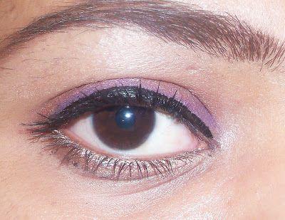 Make up look - fácil olho compõem usando colorstay revlon eyelner espumantes