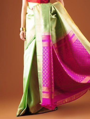 Melhores sarees kanchipuram de noiva