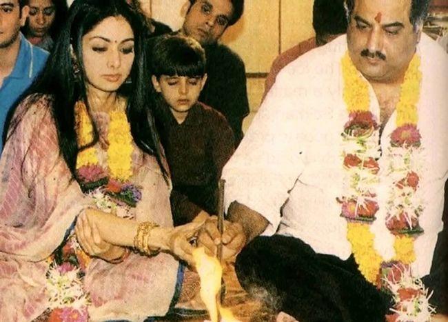 Sridevi E Boney Kapoor