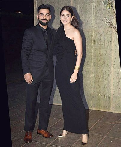Anushka Sharma e Virat Kohli