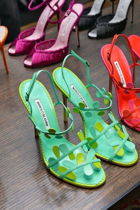 Manolo blahnik sapatos 2014 - primavera / verão sapatos 2014 coleção