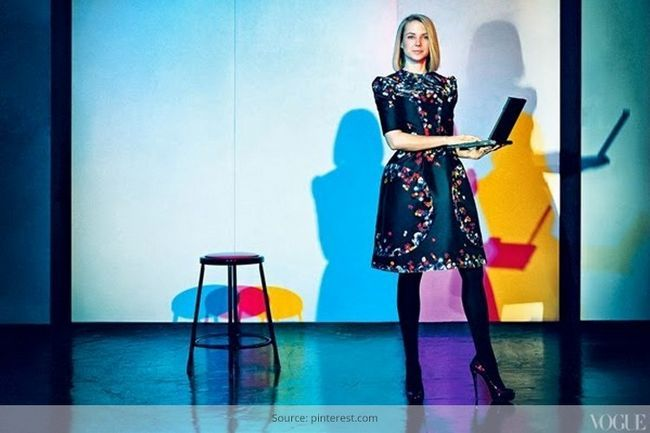 Moda corporativa de Marissa Mayer