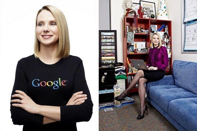 Marissa Mayer moda Google dias