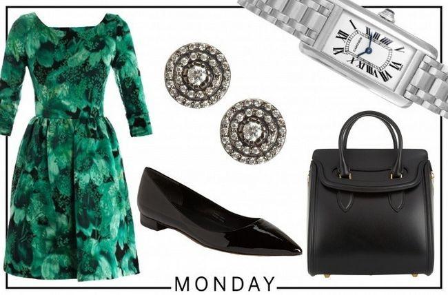 Marissa Mayer segunda-feira workwear