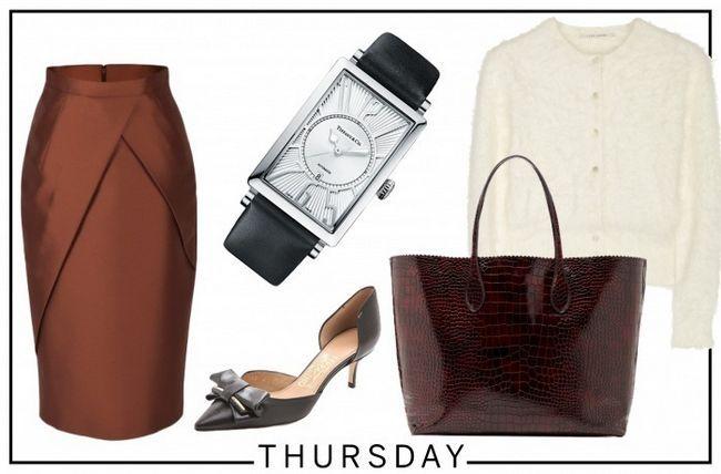 Marissa Mayer quinta-feira workwear