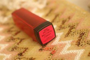 Maybelline violeta batom rosa vívida fosco avaliação, swatch & fotd