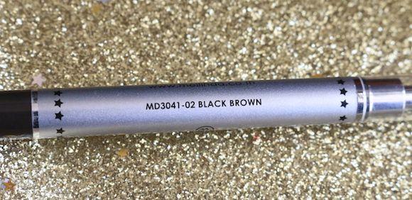 mei-linda-sobrancelha-lápis retrátil-black-brown-sombra